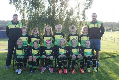 St Nicholas Girls Team U10s